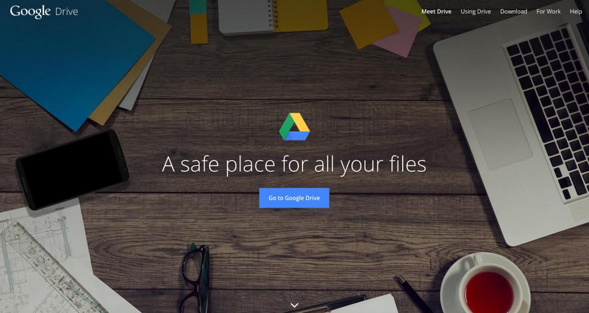 Déplacer son dossier Google Drive