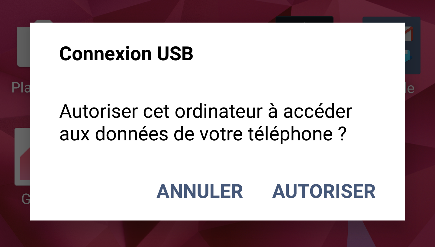 AndroidDisconnecting